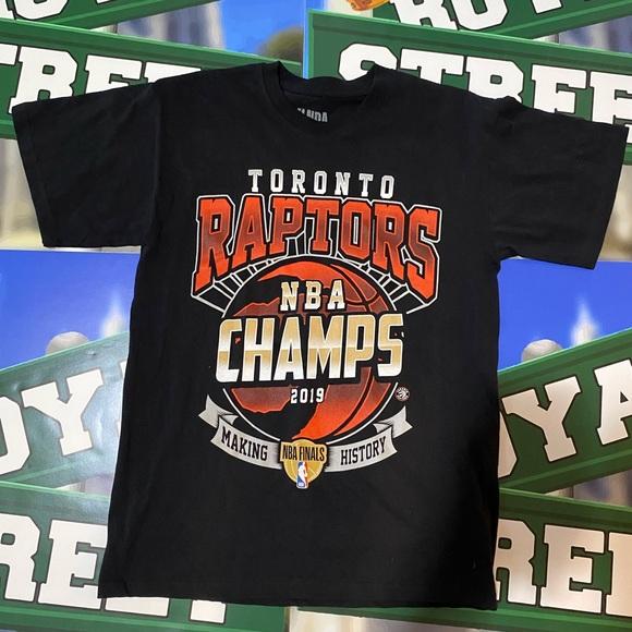 NBA Toronto raptors 2019 NBA champions t shirt